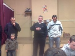 Sam Maguire Visits Listry