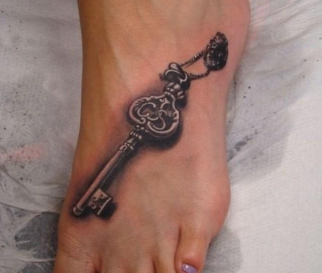 Foot Tattoo Design