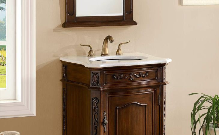 adelina inch antique bathroom vanity cabinet white marble backgrounds with mirror for desktop hd pics
