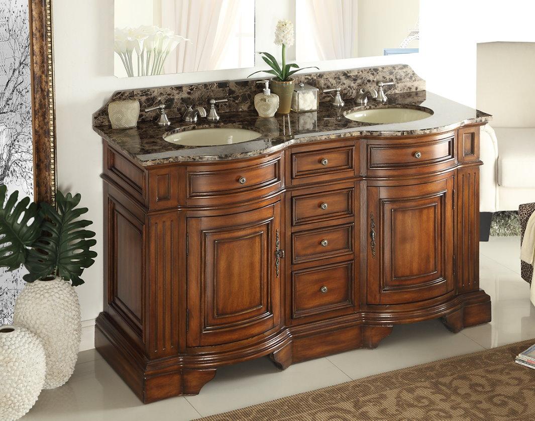 adelina 60 inch double sink bathroom