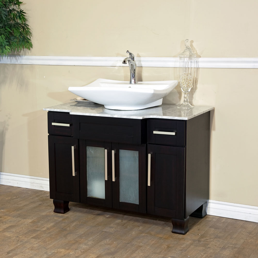 bellaterra home 604023b single sink bathroom vanity, soft close