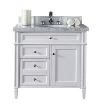 """James Martin Brittany Collection 36"""" Single Vanity ..."""