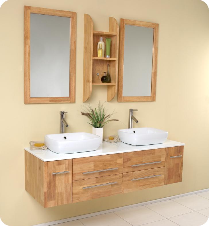 double vessel sink bathroom vanity