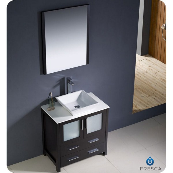 Modern Bathroom Vanities with Vessel Sinks
