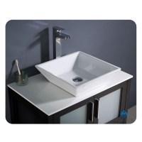 "Fresca Torino 30"" Espresso Modern Bathroom Vanity Vessel ..."