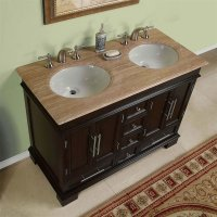 Silkroad Exclusive HYP-0224-UWC-48, 48 inch Double Sink ...