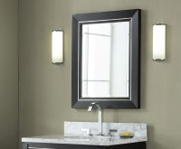 Manhattan 24 inch Black Contemporary Bathroom Vanity