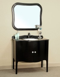 Bellaterra Home 203037 Black Bathroom Vanity, Black