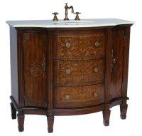 Adelina 42 inch Vintage French Bathroom Vanity