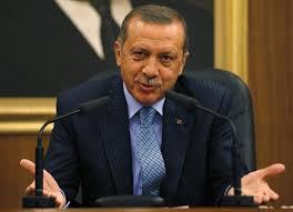 """Prezydent Turcji Recep Tayyip Erdogan.. (zdjęcie: REUTERS)Turcja dowiodła raz jeszcze, że jest najmniej godnym zaufania """"sojusznikiem"""" w NATO."""