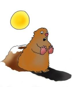 groundhog illustration