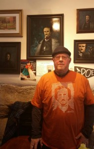 Murray Ellison at the Poe Museum