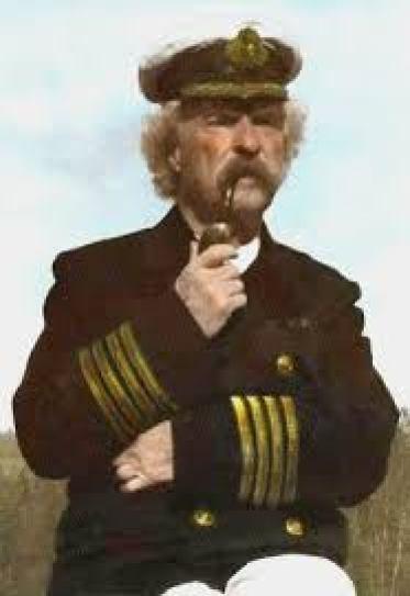 Captain Mark Twain