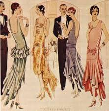 fashions of the 20's