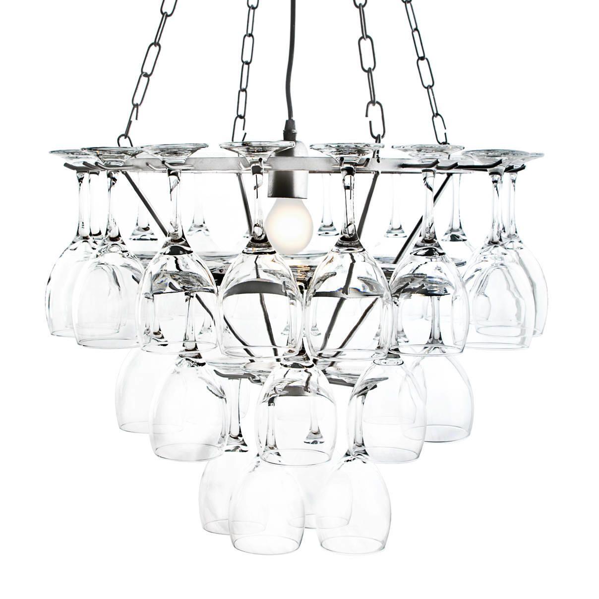 2 tier kitchen island create your own wine glass chandelier - 3 in silver from litecraft