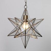 Nicklin Star Pendant Ceiling Light - Brass from Litecraft