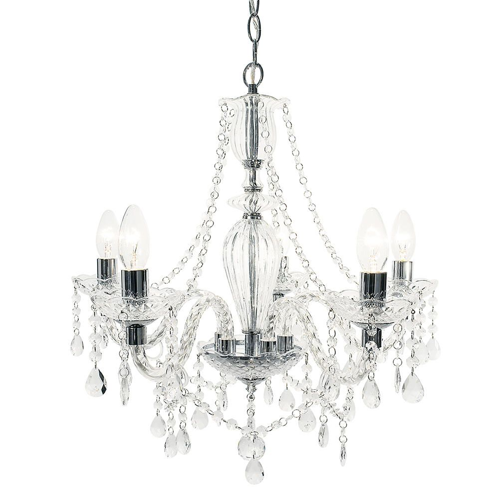 Crystal Chandelier Avignon with Crystal Style Acrylic