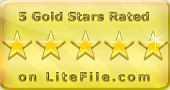 5 Gold Stars Rated