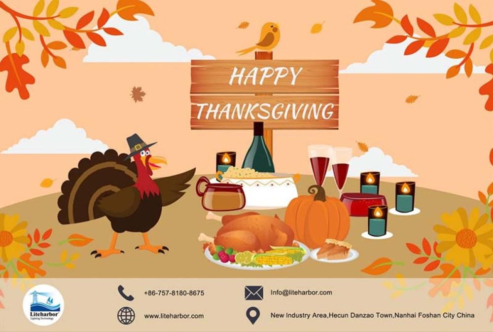 Liteharbor Wish You a Wonderful Thanksgiving Day