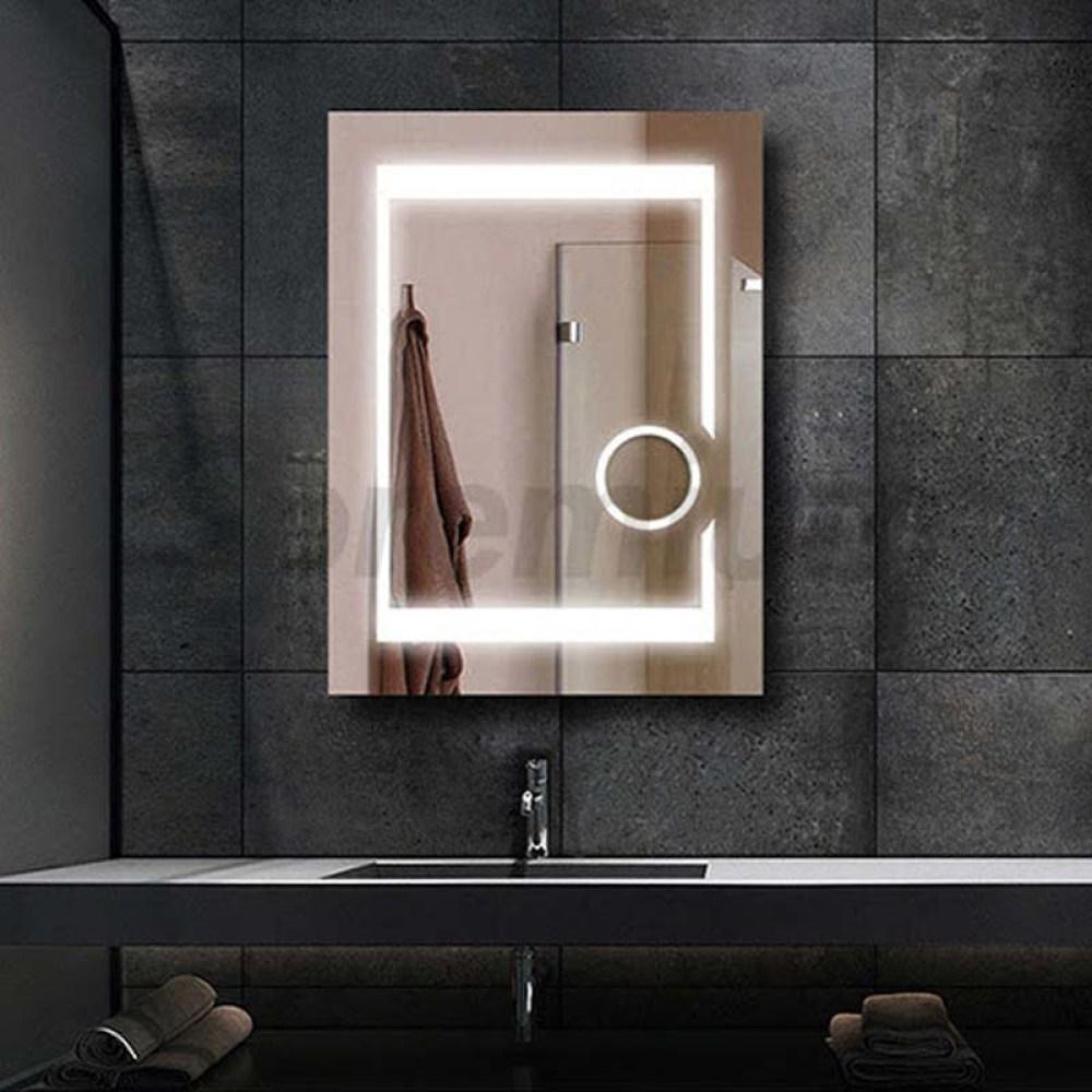Magnifying mirror light