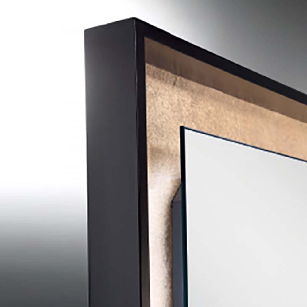 backlit led bathroom mirror