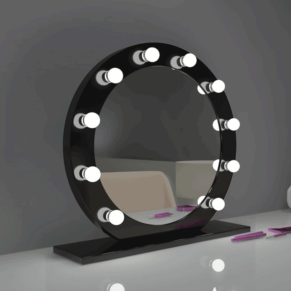 vanity mirror with lights and bluetooth
