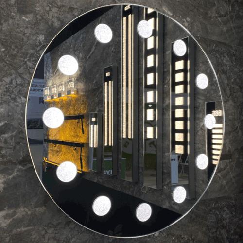 Round Hollywood Mirror