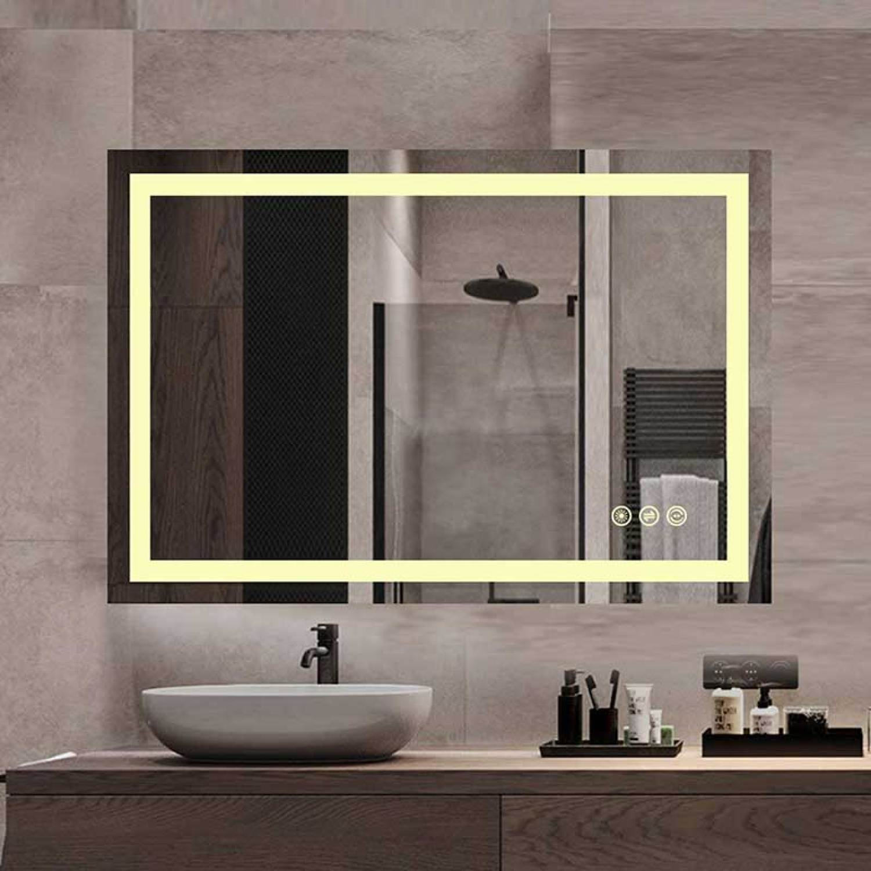 Vanity Art  LED Lighted Mirror Bathroom Wall Mirror with Sensor Switch