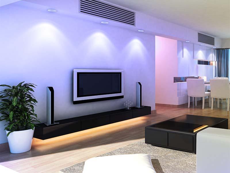 3.5″ RGBW+ White LED Recessed Light