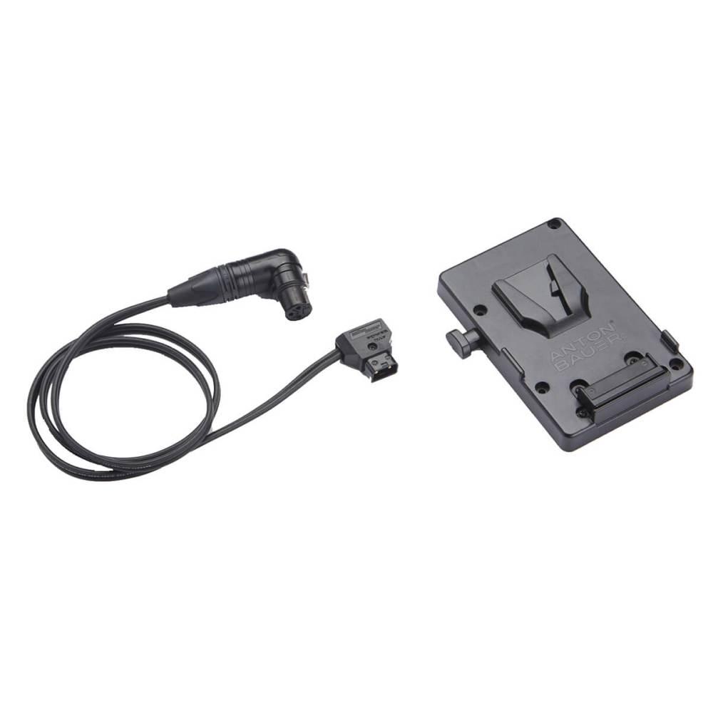 medium resolution of  3 pin xlr cable 1 battery adapter v lock mount