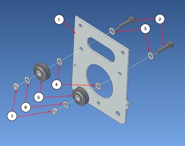 gantry back plate step1