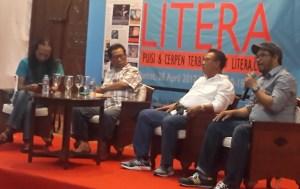 Diskusi sastra Anugerah Litera 2017 oke