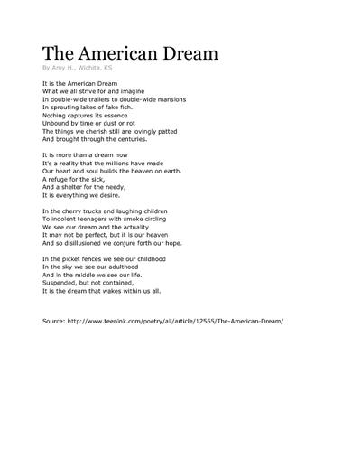 the examples of the downfall of the american dream in the great gatsby by fitzgerald A critical analysis of the great gatsby fitzgerald defines this dream, and through gatsby's downfall it validates gatsby and the american dream fitzgerald.