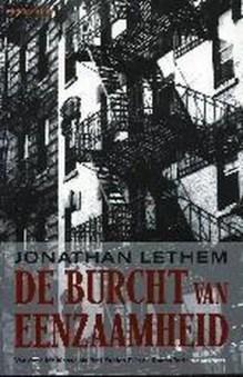 Omslag De burcht van eenzaamheid - Jonathan Lethem