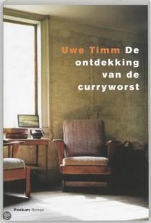 Omslag De ontdekking van de curryworst - Uwe Timm