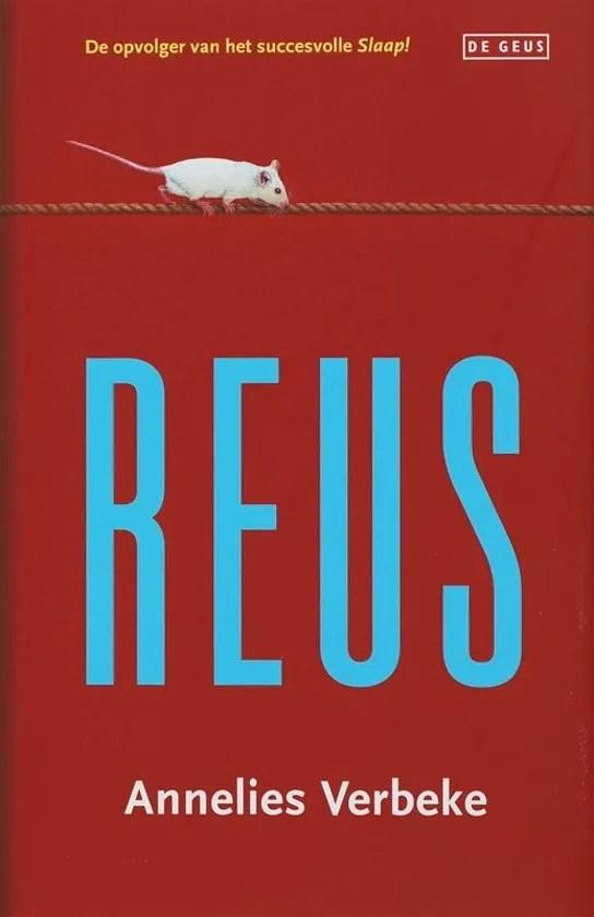 Omslag Reus - Annelies Verbeke