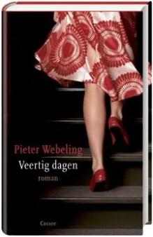 Omslag Veertig dagen - Pieter Webeling