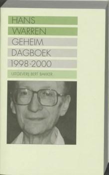 Omslag Geheim dagboek 1998-2000 - Hans Warren