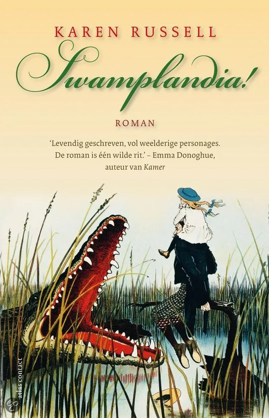 Omslag Swamplandia! - Karen Russell