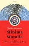 Omslag Minima Moralia  -  Theodor W. Adorno