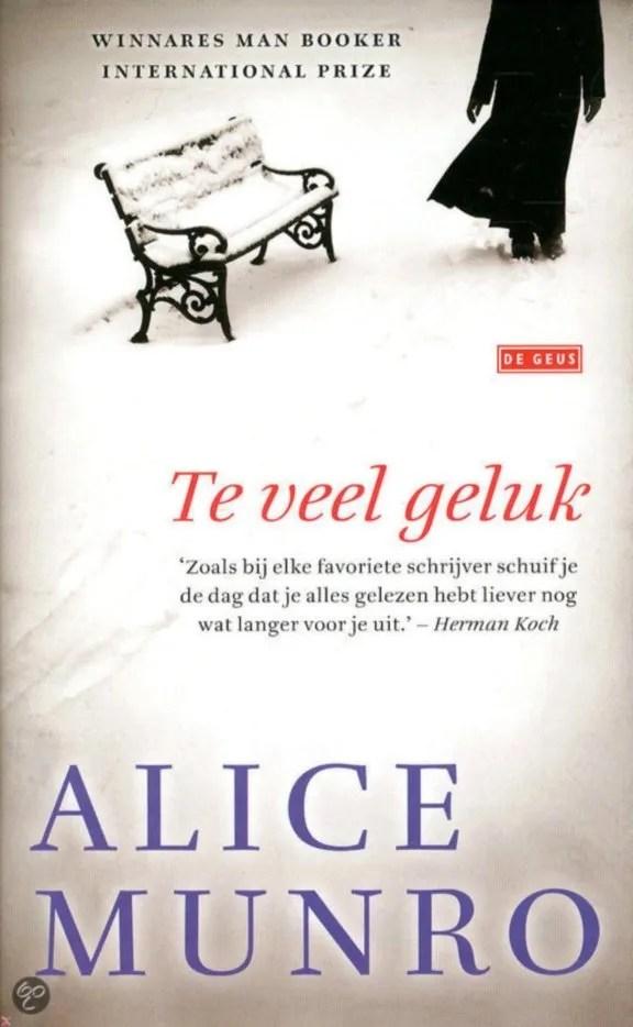 Omslag Te veel geluk - Alice Munro