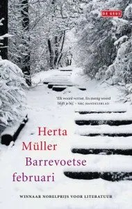 Omslag Barrevoetse februari - Herta Muller