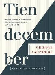 Omslag Tien december - George Saunders