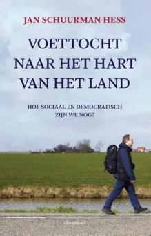 Omslag Voettocht naar het hart van het land - Jan Schuurman Hess