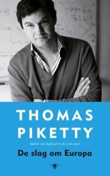 Omslag De slag om Europa - Thomas Piketty