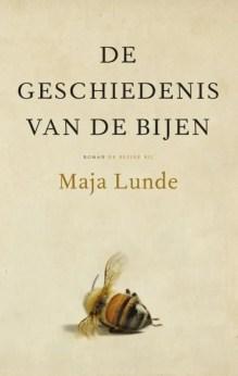 Omslag De geschiedenis van de bijen - Maja Lunde