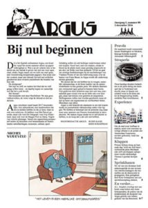 Omslag Argus -