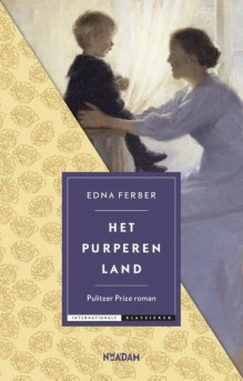 Omslag Het purperen land - Edna Ferber