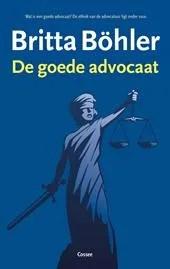 Omslag De goede advocaat - Britta Böhler