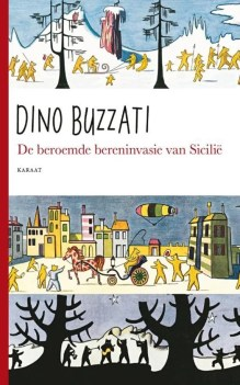 Omslag De beroemde bereninvasie van Sicilië - Dino Buzzati
